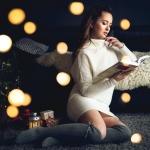 sesja świąteczna - bokeh