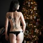 Sesja świąteczna z Marishką