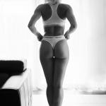 Paulina w bieliźnie Calvin Klein