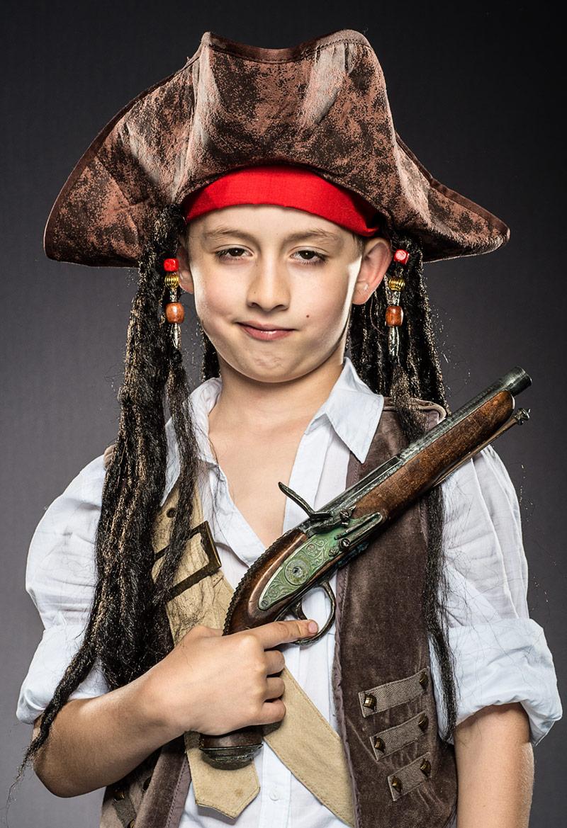 Jack Sparrow z uśmiechem