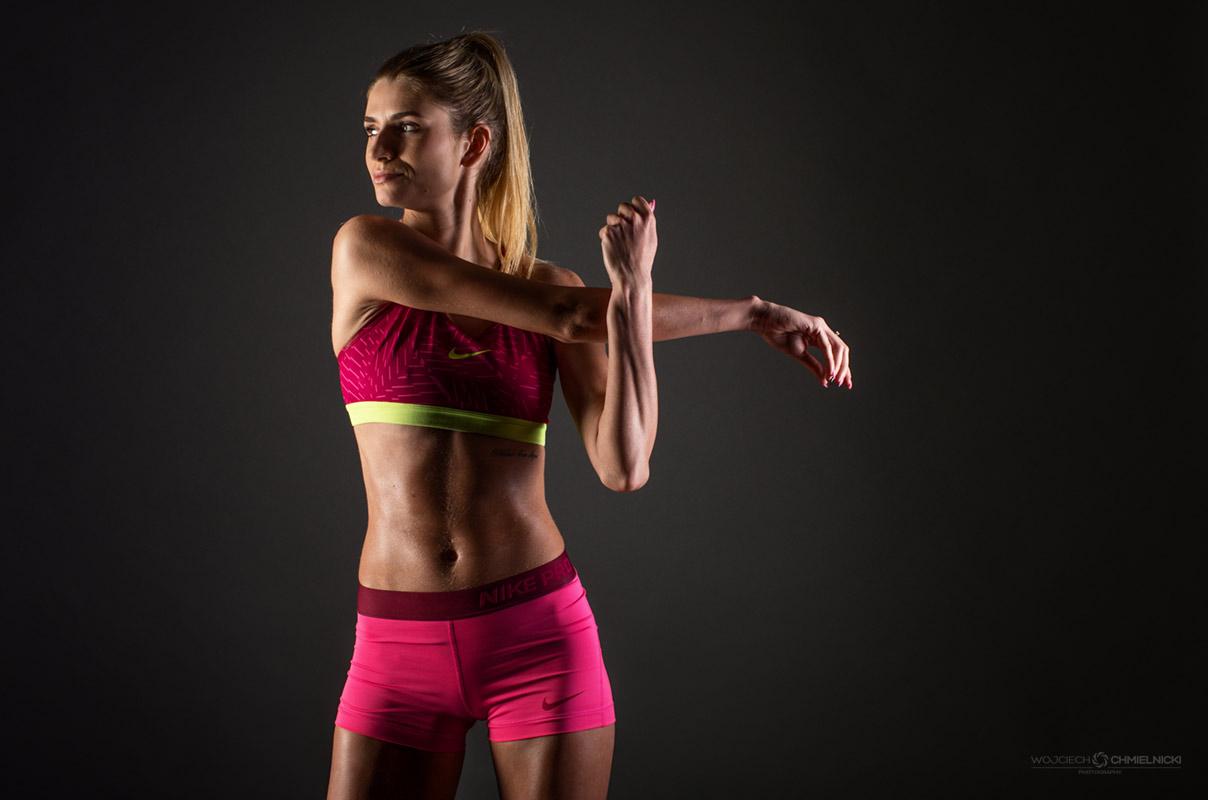 sesja fitness - Magda