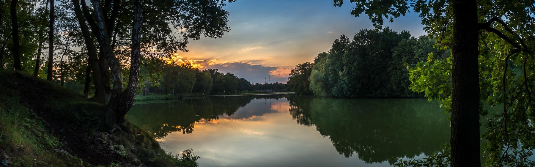 Park w Świerklańcu - panorama