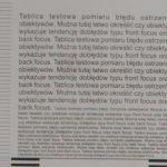 sigma ART 35/1.4 f8 lewy róg