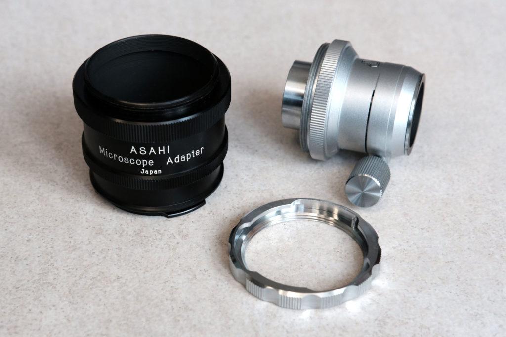 pentax asahi adapter - części